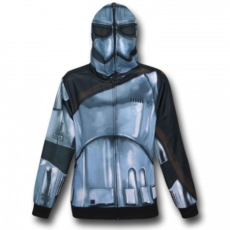 Star Wars Force Awakens Captain Phasma Costume Hoodie