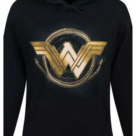 Wonder Woman Movie Golden Lasso Men's Hoodie