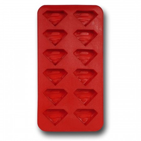 Superman Symbols Ice Cube Tray