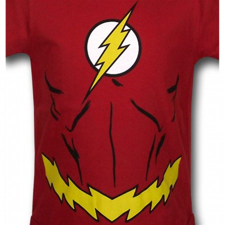 Flash Costume Infant Snapsuit
