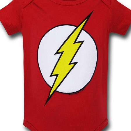Flash Symbol Infant Snapsuit