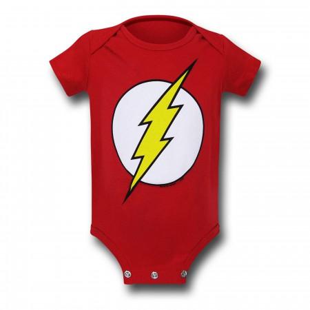 Flash Symbol Infant Snapsuit