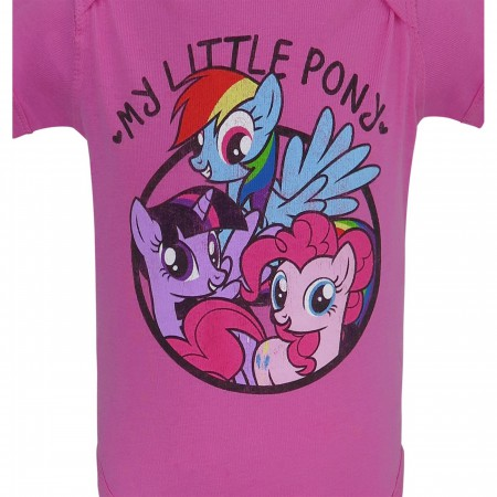 My Little Pony Circle Infant Snapsuit