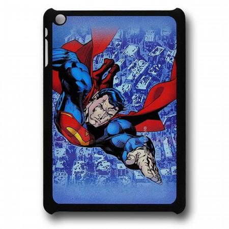 Superman Strafing Ruins Thinshield iPad Mini Cover