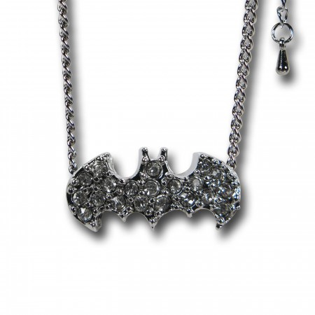Batman Stone Charm Necklace