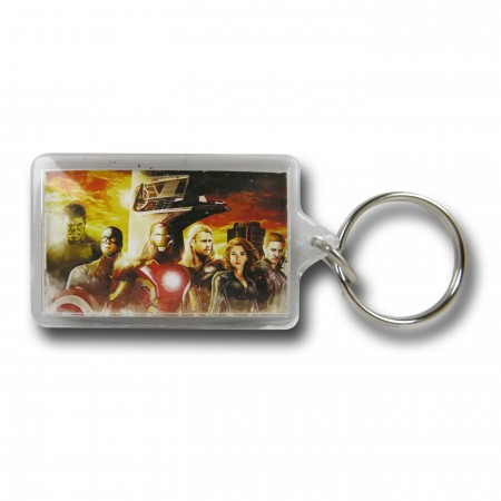 Avengers Age of Ultron Group Keychain
