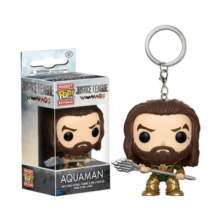 Aquaman Justice League Movie Pocket Pop Keychain