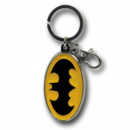 Batman Color Symbol Pewter Keychain