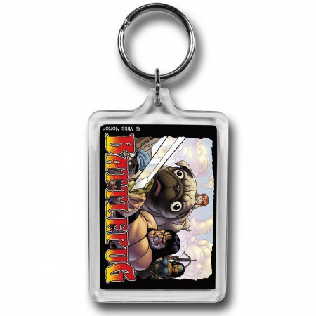 BattlePug Group Lucite Keychain