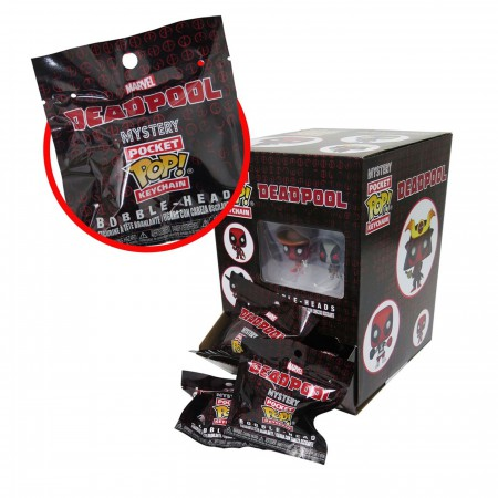 Deadpool Mystery Funko Pocket Pop Keychain