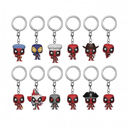 Deadpool Mystery Funko Pocket Pop Keychain