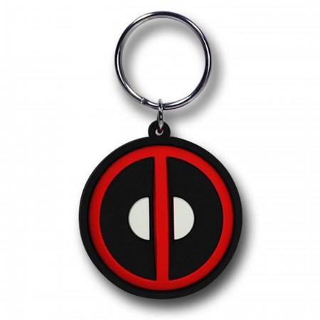Deadpool Symbol Soft Touch PVC Keyring