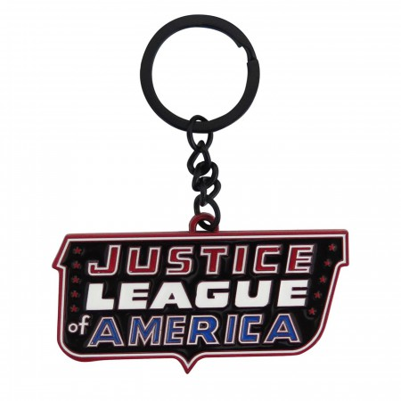 Justice League of America Classic Logo Keychain