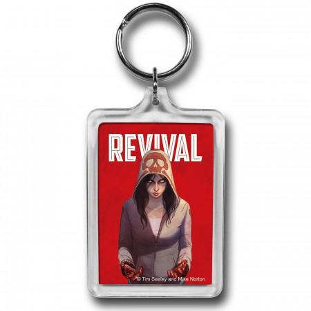 Revival Em Logo Lucite Keychain