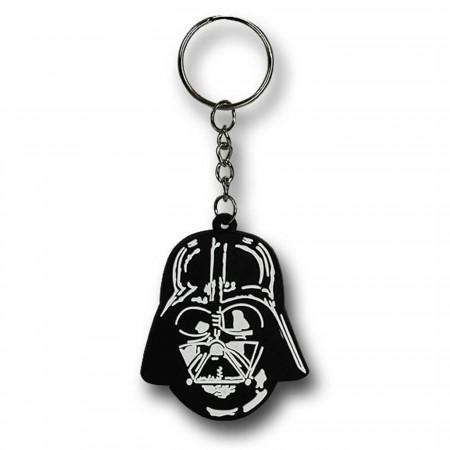 Star Wars Darth Vader Helmet PVC Keychain