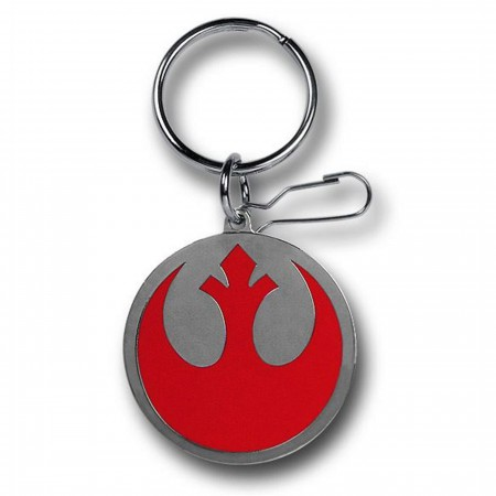 Star Wars Rebel Symbol Enamel Keychain