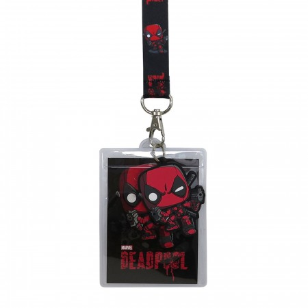 Deadpool Funko Pop! Lanyard with Charm