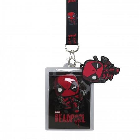 Deadpool Funko Pop! Lanyard with Charm
