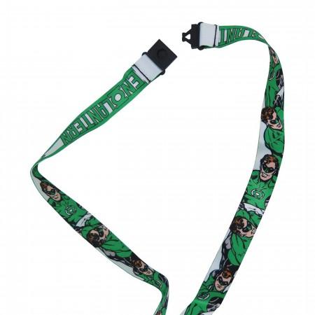 Green Lantern Classic Hal Lanyard with PVC Charm