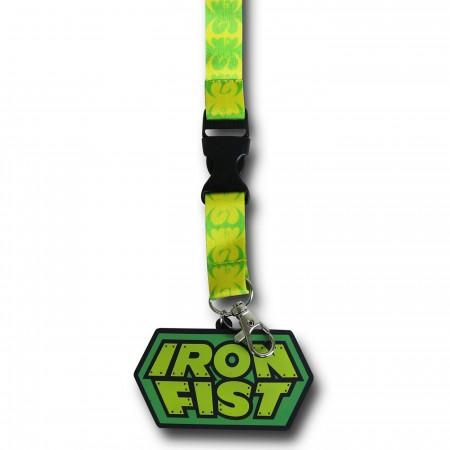 Iron Fist Symbols Lanyard