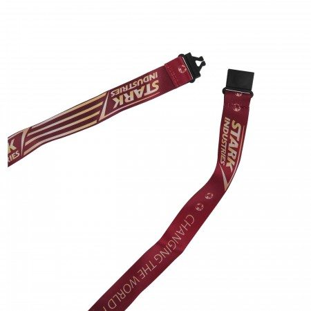 Stark Industries Lanyard with Rubber ID Holder