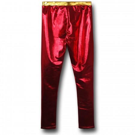 Iron Man Rescue Costume Leggings