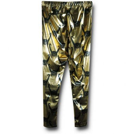 Loki Women's Gold Leggings