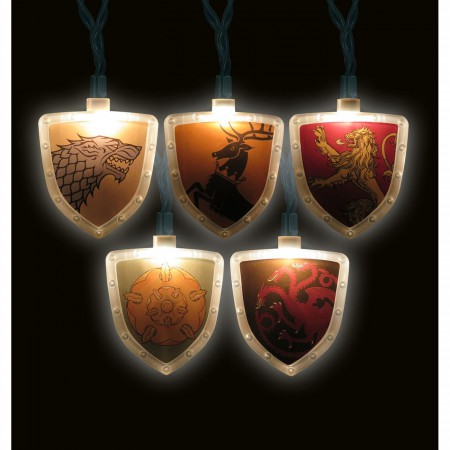 Game of Thrones House Symbols Light Set