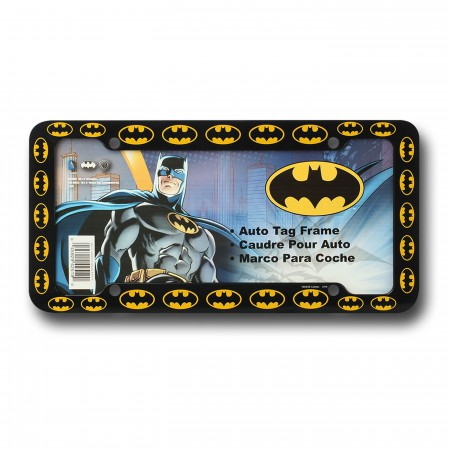 Batman Symbols License Plate Frame