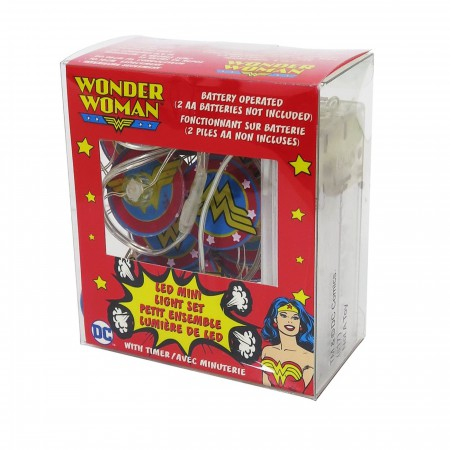 Wonder Woman Logo Battery Operated LED Light Set