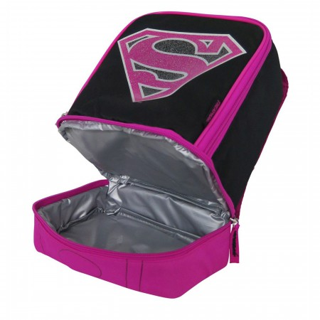 Supergirl Caped Soft Lunch Box