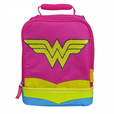 Wonder Woman Dual Lunchbox with Cape