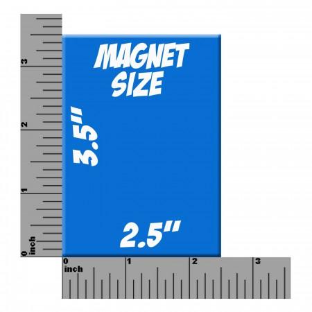 Captain Marvel #2 Cover Magnet