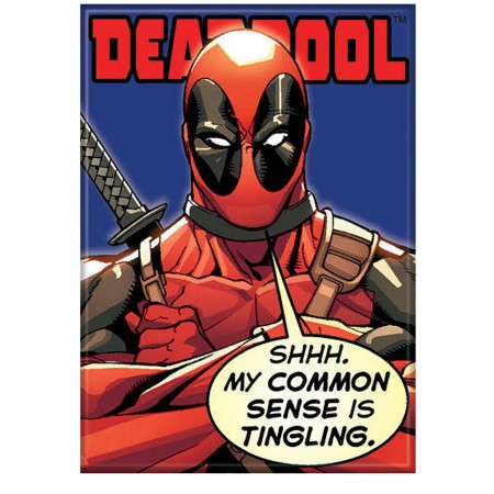 Deadpool Common Sense Tingling Magnet