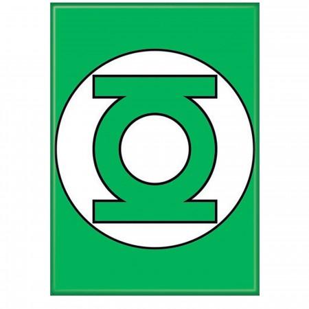 Green Lantern Symbol Green Magnet