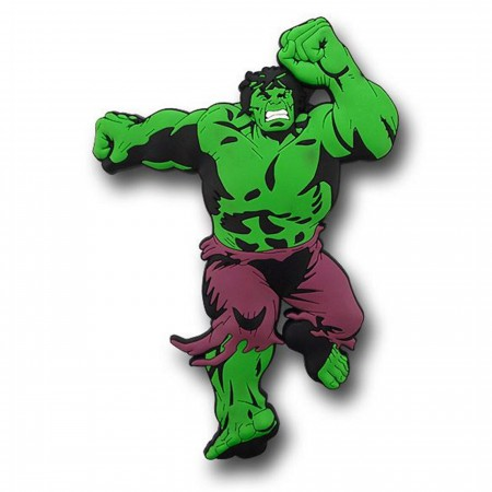 Hulk 3D Die Cut Rubber Magnet