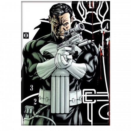 Punisher Armed and Solemn Magnet