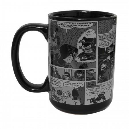 Batman Comic Print 15oz Mug