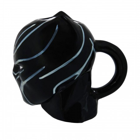 Black Panther Civil War Ceramic Sculpted Mug