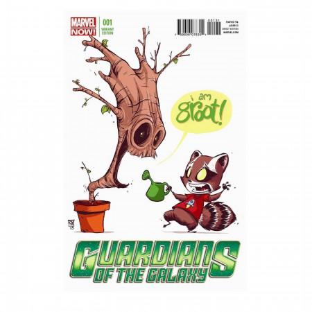 GOTG Rocket Raccoon and Groot Heat Changing Mug