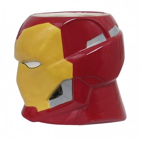 Iron Man Helmet 20oz Sculpted Ceramic Mug
