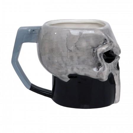 Punisher Sculpted Skull 13oz Ceramic Mug