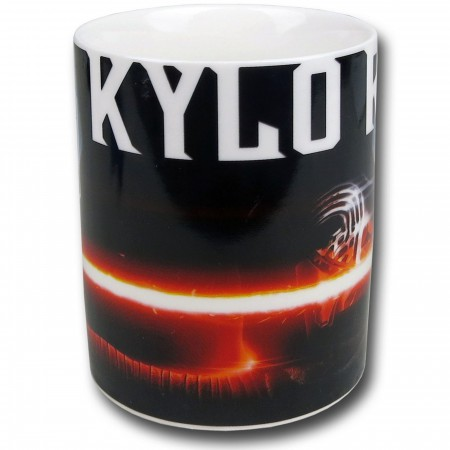 Star Wars Force Awakens Kylo Ren White Mug