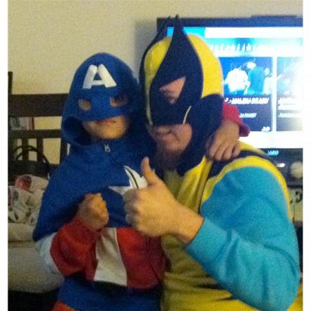 Wolverine Retro Costume Union Suit Pajamas