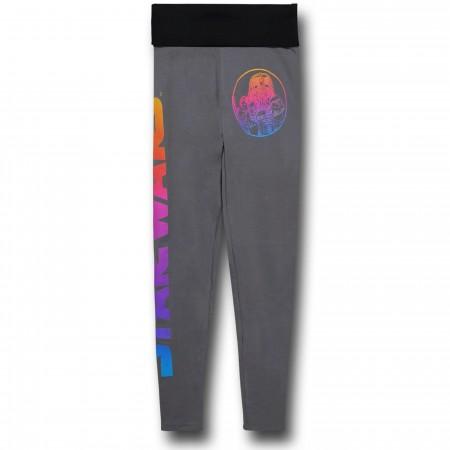 Star Wars Ombre Yoga Pants