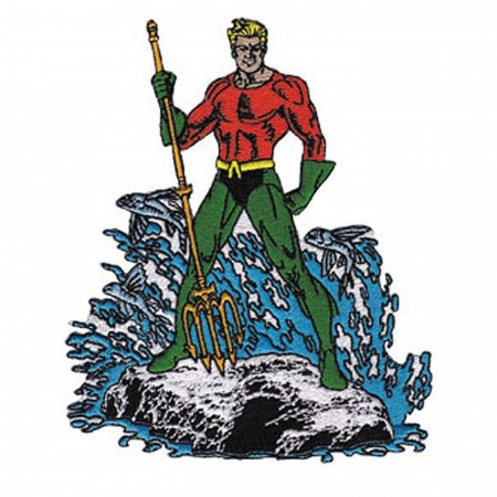 Aquaman Standing Patch