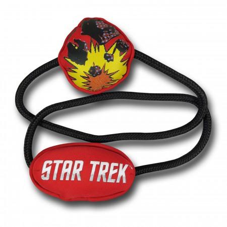 Star Trek Planet Disaster Dog Rope Toy