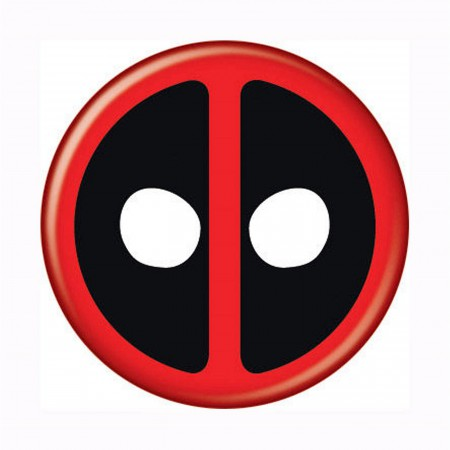 Deadpool Symbol Button
