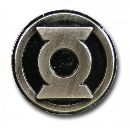 Green Lantern Symbol Pewter Lapel Pin