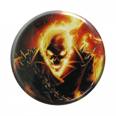 Ghost Rider Headshot Button